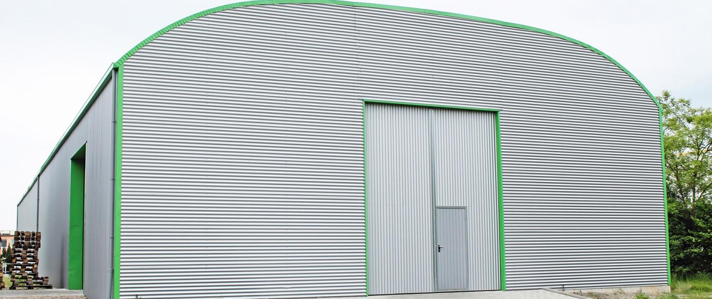 LS-Lagerhallen-Runddach
