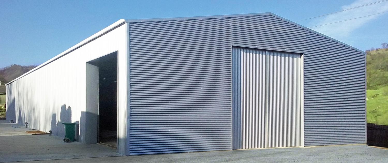 LS-Lagerhallen-Satteldach
