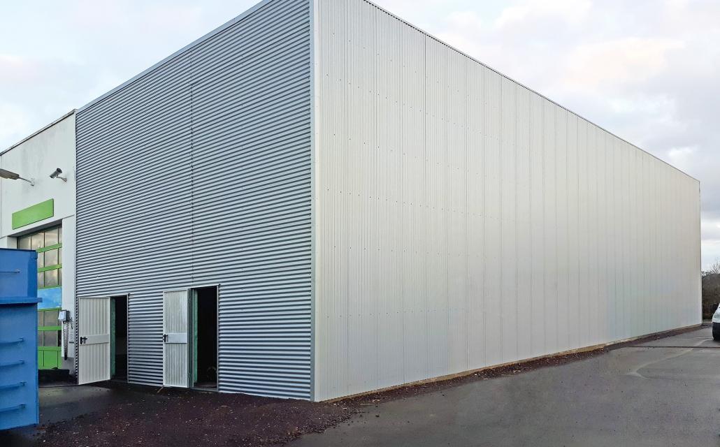 LS-Lagerhallen Einsatzbreich Gebaeudeanbau