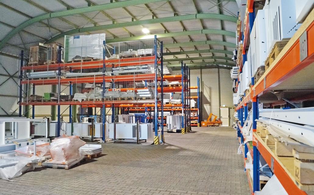 LS-Lagerhallen Einsatz Warenlager