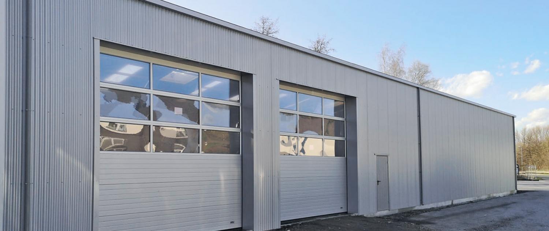 Reifenlagerhalle Gebäudeanbau